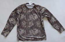 Mens Camo Hunting Shirt Size 2XL Long Sleeve WFS Burly Camouflage