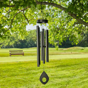 """Large 63""""H - Harmonically-Tuned Outdoor Wind Chime"""