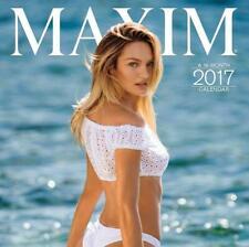 MAXIM - 2017 - 16 MONTH WALL CALENDAR - Free  Shipping