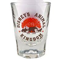 Disney's Animal Kingdom Shot Glass Rhino Elephant Lion Walt Disney World New