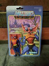 Super 7 ReAction Masters Of The Universe MANTENNA Figure He-Man Greyskull