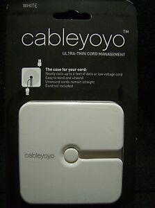 Cableyoyo Cable Organizer White