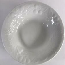 Gibson Designs Fruit Off White Set of 4 Coupe Soup Bowls (Embossed) & Gibson Ceramic Dinnerware Bowls | eBay