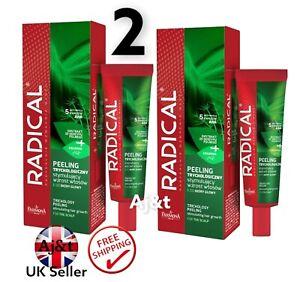 Farmona Radical Hair Loss Peeling thinning hair &hair loss Scalp Exfoliator 2X75