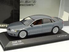 Minichamps 1/43 - Audi A8 2005 Grigia