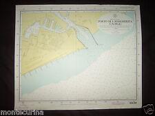 CARTA NAUTICA PORTO DI SANTA MARGHERITA CAORLE MARE ADRIATICO SEA MAP