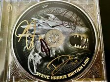 Steve Harris British Lion SIGNED CD 2012 Iron Maiden MINT CONDITION