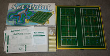 Vintage Board Game Tennis SET POINT Singles and Doubles Complete & Nice
