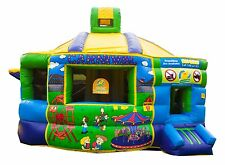 MASSIVE JUMPING CASTLE SALE - 5mx6m Fun Factory ** MAXI SIZE * Commercial * USED