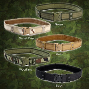 Tactical Waist Belt Adjustable Military Combat Army Belt Camping Huntin