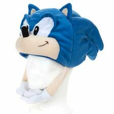 Official Sonic The Hedgehog 467150 Sonic Plush Cosplay Hat Soft Fleece Dress Up