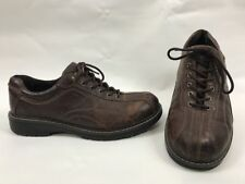 Mens RJ COLT 11.5 M Brown Leather Oxfords Lace-up Bicycle Toe Shoes Butler 24720