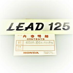 "Original Honda Sticker "" Lead 125 "" Mark.fend Type1"