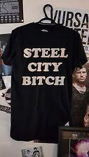 Drop Dead Clothing RARE Men's Small 'Steel City Bit#$H'