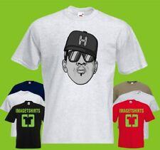 Hip Hop Printed T-Shirt Tee Shirt Camiseta De Arte