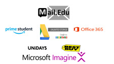EDU EMAIL = AMAZON PRIME STUDENT 6 MONTHS FREE SHIPPING +  Google Drive Unlimite