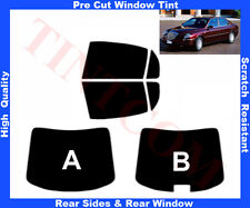 Pre Cut Window Tint Lancia Thesis 4D 2002-2008 Rear Window& Rear Sides Any Shade