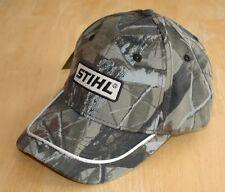 Stihl Realtree Hardwoods Camo all Fabric  Hat / Cap Adjustable