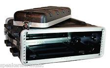"""3U Space Rack Case, 16.5"""" Deep Shell, Lightweight Amp Effects ABS w  rack screws"""