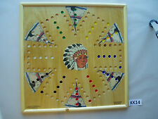 WAHOO WA HOO BOARD GAME  20 x 20 inch.  6 player with images.  KK14