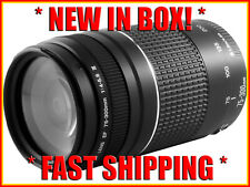 *NEW * Canon EF 75-300mm f/4-5.6 III Zoom Lens ALL CANON SLR CAMERAS!