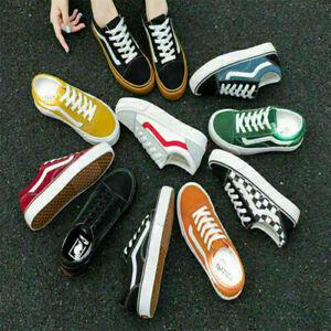 Van Old Skool Skate Shoes Classic Canvas Sneakers Low top sneakers All Size