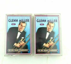 Glenn Miller Make Believe Ballroom Time 1 & 2 Vintage Music Audio Cassette Tape