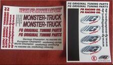 Dekorbogen original FG Tuning Parts Monster Truck