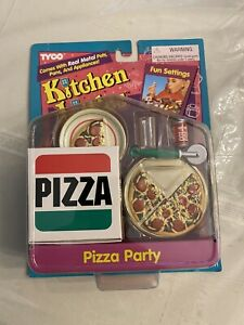 TYCO Kitchen Littles Pizza Party 2004-1 Playset 1995 TYCO NEW SEALED