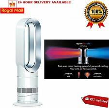 Dyson Hot+Cool AM09 WHITE Fan Heater Brand New- 2 Year Guarantee NEW FREE P&P