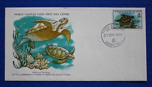 Turks & Caicos (381) 1979 Green Turtle WWF FDC