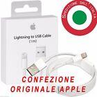 Cavo dati Apple BLISTER ORIGINALE lightning usb IPHONE 5S 6 6s iOS9 iPad cavetto