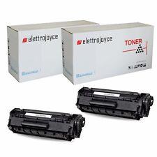 2 TONER PER CANON I-SENSYS MF3010 LBP6030 LBP6030W LBP6000 LBP6020B EP725 CE285A