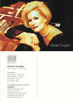 GLORIA COOPER CD - DAY BY DAY UNUSED ADVERTISING COLOUR POSTCARD