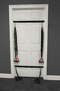 Door Anchor Straps - Designed for X-Over Shoulder Resistance Bands - 1 Pair