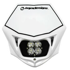 Motorcycle Headlight A/C LED Race Light White Squadron Pro Baja Designs