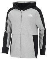 Adidas Big Boys Transitional Full-Zip Cotton Jacket Size-L (14/16)