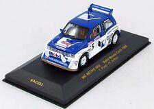 MG METRO 6R4 RALLYE MONTE CARLO 1986 N°RAC033 1/43 IXO