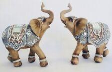 Decorative Flower Flora Mirror Masonic Elephant Ornament Figurine Statue Decor