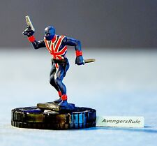 Marvel Heroclix Nick Fury Agent of S.H.I.E.L.D. 043a Union Jack Rare