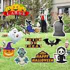 Halloween Decorations Outdoor Halloween Yard Signs with Stakes, Cute Large Props