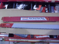 "10 !! Simonds ""Red End""  18"" x 1- 1/4"" x .065"" x 4 Tooth  HSS Hack Saw Blades"