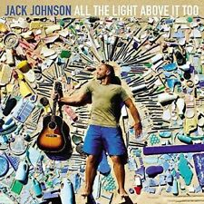 JACK JOHNSON ALL THE LIGHT ABOVE IT TOO CD - New Release September 8th 2017