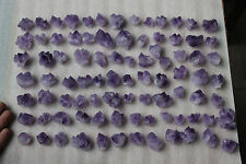 Wholesale price! 1.0LB 52PCS Skeletal AMETHYST QUARTZ Crystal Cluster Specimen