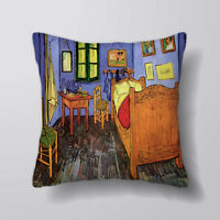 Van Gogh Bedroom Printed Cushion Covers Pillow Cases Home Decor or Inner