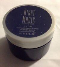 Avon Night Magic Evening Musk Perfumed Skin Softener 5 oz Women NEW