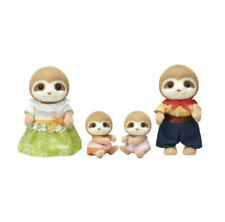 Epoch Sylvanian Families SLOTH FAMILY Calico Critters Japan 2020 (14377)