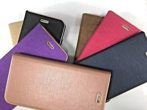 LUXURY GENUINE MAGNETIC FLIP WALLET LEATHER CASE COVER FOR i phone 6 / 6s