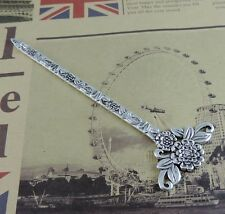 4pcs/lot Vintage Silver Alloy Flower Hairpins Retro Hair Jewelry 39295