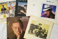 Lot of 7 Country Records Wholesale Various Condition G-VG+ Atkins, Juice, Young
